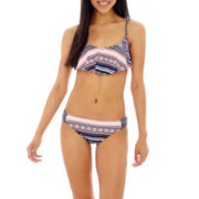 Arizona Tribal Print Hanky Bra Swim Top or Hipster Bottoms - Juniors