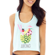 Arizona Graphic Print Tank Top Cover-Up - Juniors