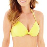 Stylus™ Underwire Push-Up Halter Bra Swim Top