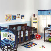 Disney My Friend Mickey Deluxe Embellished 4-pc. Baby Bedding