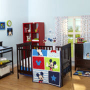 Disney Mickey Mouse 3-pc. Baby Bedding