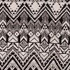 Black/white Aztec