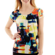 Worthington® Short-Sleeve Essential Tee - Petite