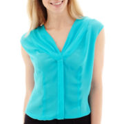 Worthington® Pleated Blouse