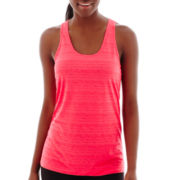 Xersion™ Burnout Striped Tank Top - Tall