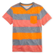 Arizona Striped Pocket Tee - Boys 8-20