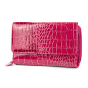 Mundi® Big Fat Cactus Croco Wallet
