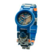 LEGO® Nexo Knights™ Clay Kids' Minifigure Link Watch
