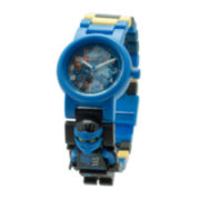 LEGO® Ninjago™ Sky Pirates Jay Kids' Minifigure Link Watch