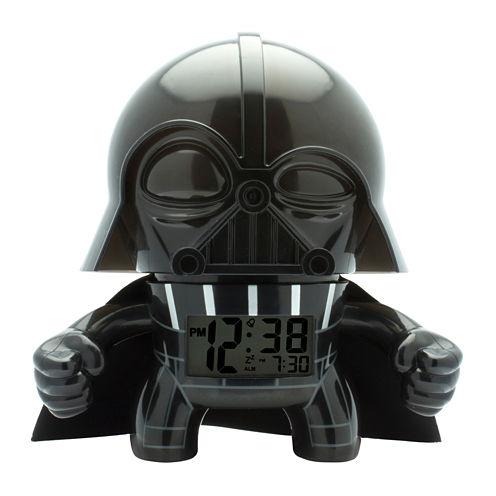"""Bulb Botz Star Wars® Darth Vader 7.5"""" Tall Digital Alarm Clock"""