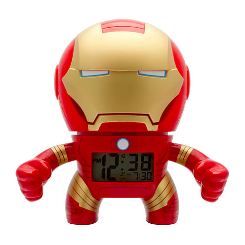 "Bulb Botz Marvel® Ironman 7.5"" Tall Digital Alarm Clock"
