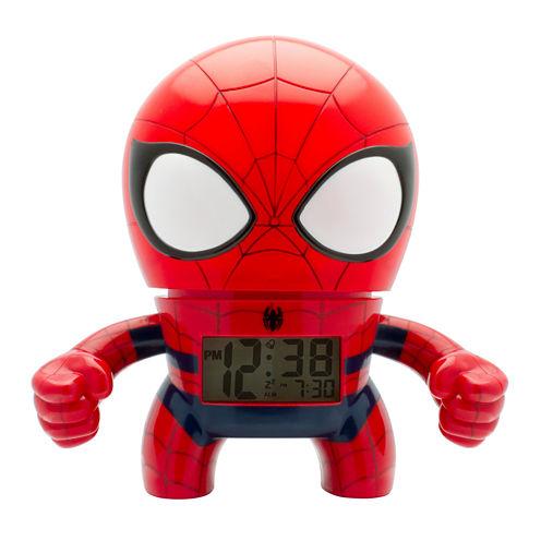 """Bulb Botz Marvel® Spider-Man™ 7.5"""" Tall Digital Alarm Clock"""