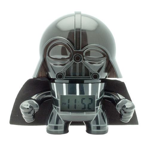 """Bulb Botz Star Wars® Darth Vader 3.5"""" Tall Digital Alarm Clock"""
