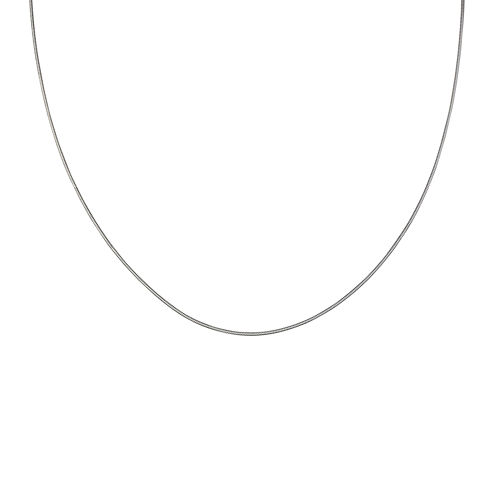 Silver Reflections™ Sterling Silver Snake Chain Necklace