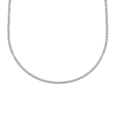 jcpenney.com | Silver Reflections™ Stainless Steel Box Chain Necklace