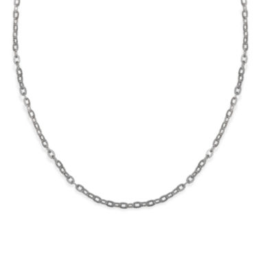 jcpenney.com | Silver Reflections™ Stainless Steel Oval Link Necklace
