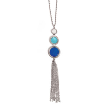jcpenney.com | Studio By Carol Dauplaise 3-Part Tassel Necklace