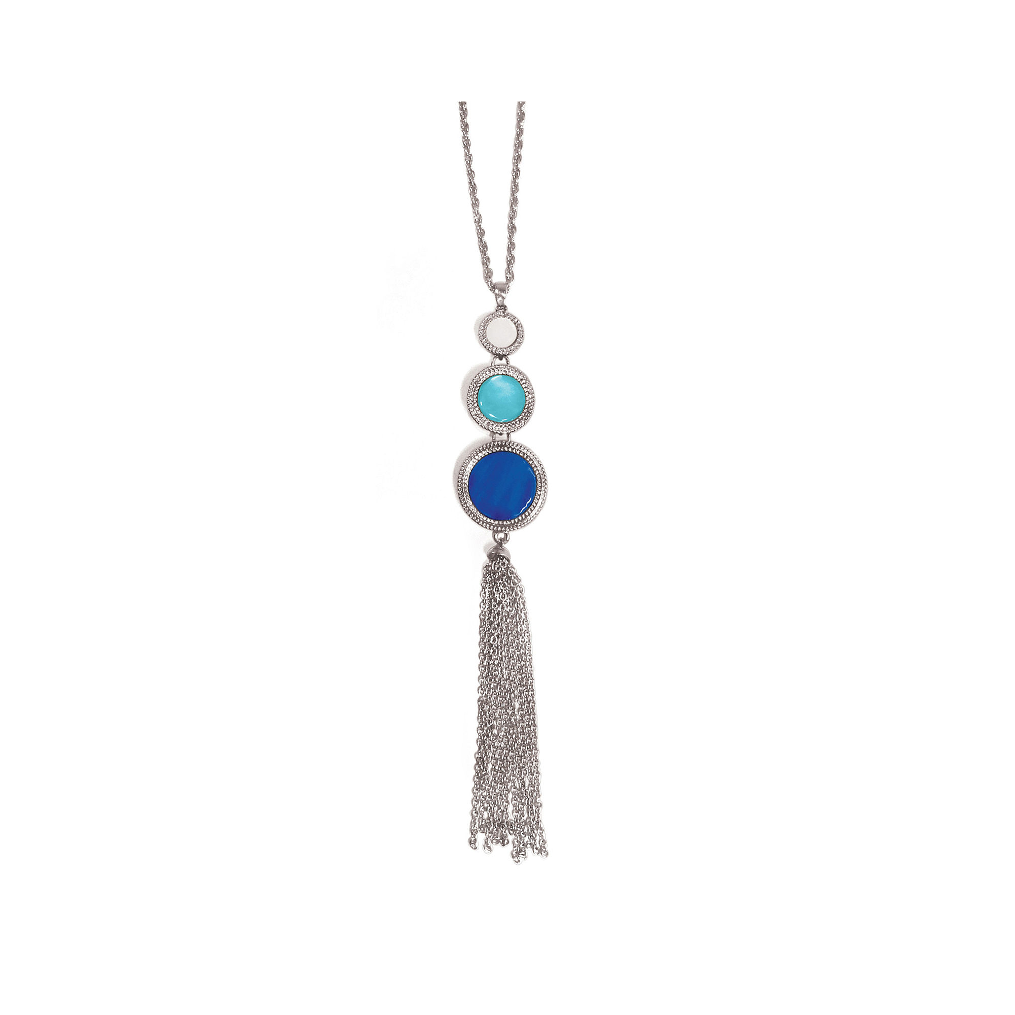 Studio By Carol Dauplaise 3-Part Tassel Necklace