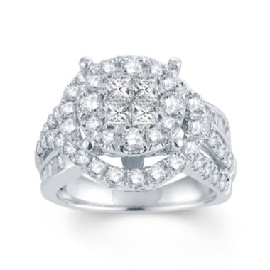 jcpenney.com | LIMITED QUANTITIES 2 1/2 CT. T.W. Diamond 14K White Gold Ring