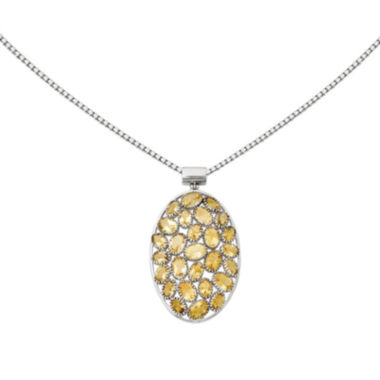 jcpenney.com | Genuine Citrine Sterling Silver Pendant Necklace