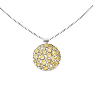jcpenney.com | Citrine Sterling Silver Pendant Necklace