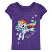 My Little Pony Short-Sleeve Tee - Toddler Girls 2t-4t