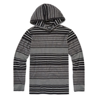 jcpenney.com | Vans® Striped Long-Sleeve Pullover Hoodie - Boys 8-20