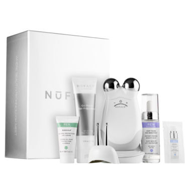 jcpenney.com | NuFACE Trinity + Eye and Lip Enhancer Attachment with REN Firming Set