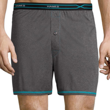 jcpenney.com | Hanes® X-Temp Performance Knit Boxers
