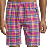 U.S. Polo Assn.® Woven Madras Plaid Pajama Shorts