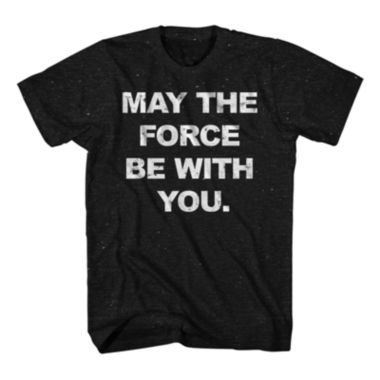 jcpenney.com | Star Wars™ May The Force Short-Sleeve Tee