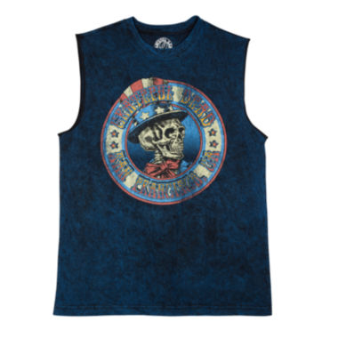 jcpenney.com | Grateful Dead American Muscle Cotton Tank Top