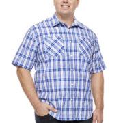 Ecko Unltd.® Pattern Short-Sleeve Woven Button-Front Shirt - Big & Tall