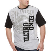 Ecko Unltd.® Seven Deuce Short-Sleeve Crew Shirt - Big & Tall