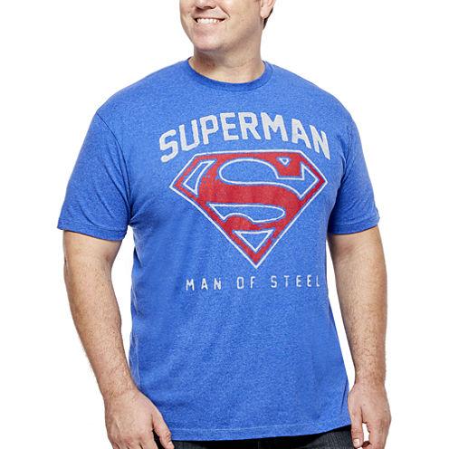 Bioworld® Superman Short-Sleeve Graphic Tee - Big & Tall
