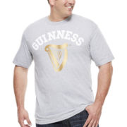 Bioworld® Guiness Short-Sleeve Classic Graphic Tee - Big & Tall
