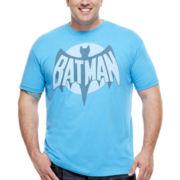 Bioworld® Batman Short-Sleeve Wings Graphic Tee - Big & Tall