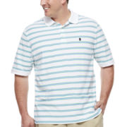 Izod® Short-Sleeve Pique Polo - Big & Tall