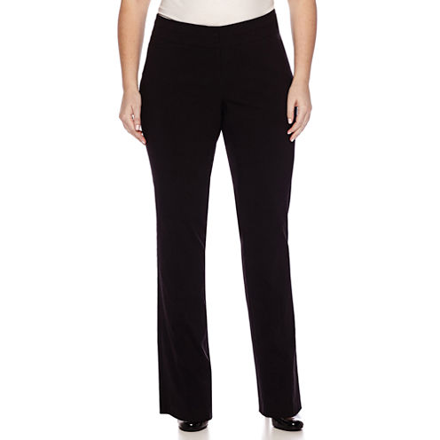 Heart & Soul® Double Waistband Pants - Juniors Plus Long