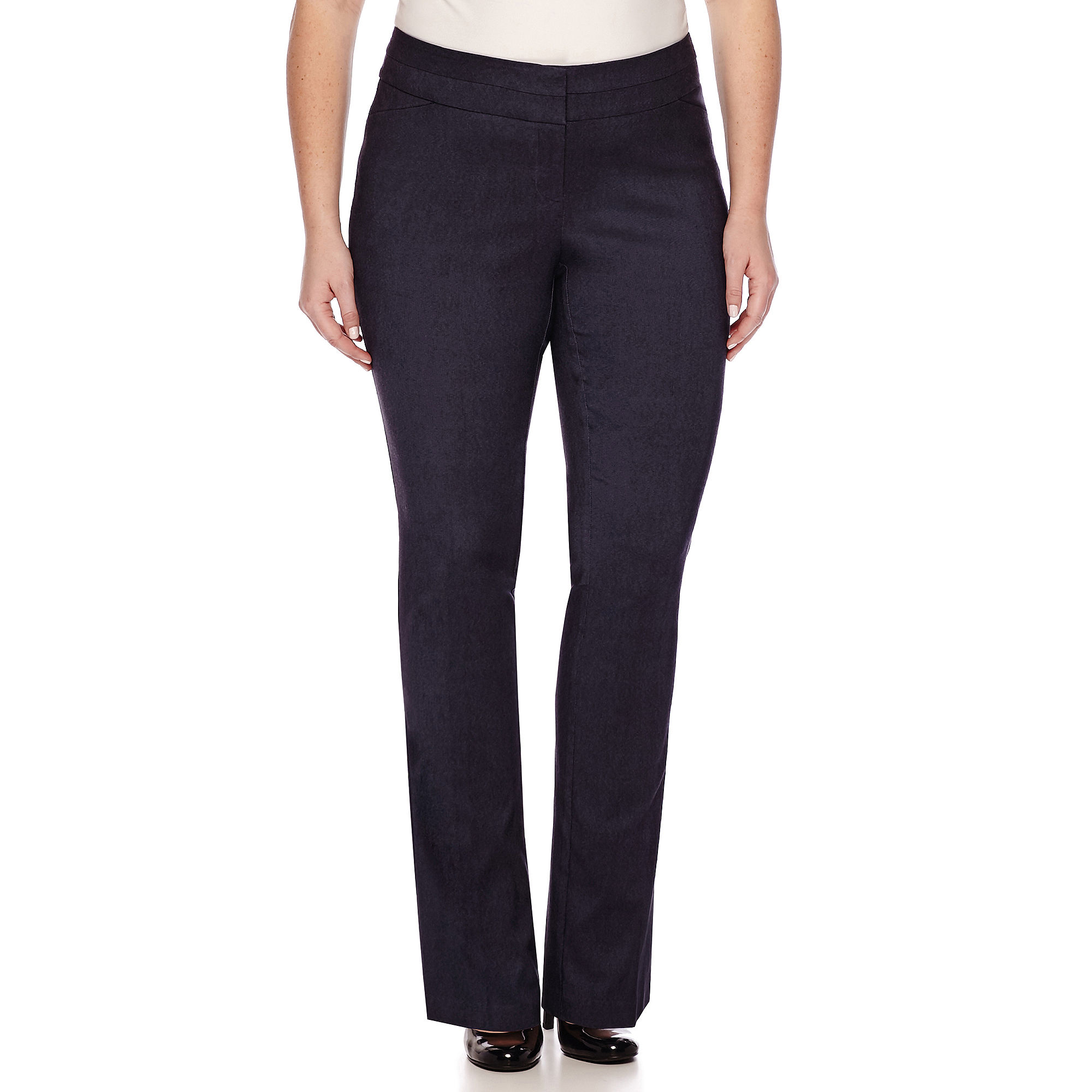 Heart & Soul Double Waist Pants - Juniors Plus Long plus size,  plus size fashion plus size appare
