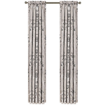 Queen Street® Arabella 2-Pack Rod-Pocket Curtain Panels
