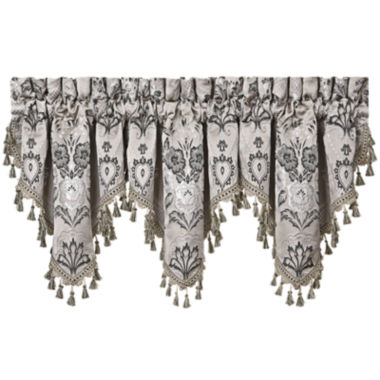 jcpenney.com | Queen Street® Arabella Ascot Rod-Pocket Valance