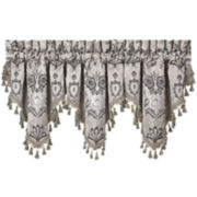Queen Street® Arabella Ascot Rod-Pocket Valance