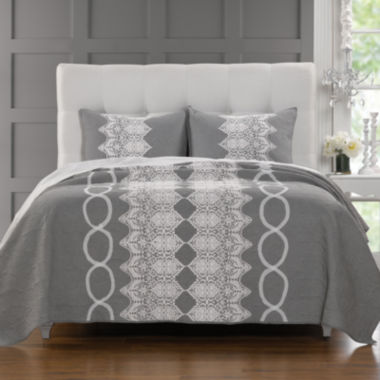 jcpenney.com | Greenland Home Fashions Chantilly Lace Quilt Set