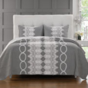 Greenland Home Fashions Chantilly Lace Quilt Set