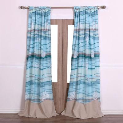Greenland Home Fashions Maui 2-pk. Curtain Panels