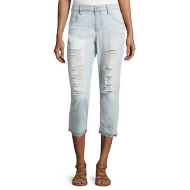 jcpenney.com | a.n.a® Boyfriend Released Hem Cropped Pants - Tall