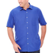 Claiborne® Short-Sleeve Shirt - Big & Tall