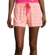 Sleep Chic® Print Pajama Shorts
