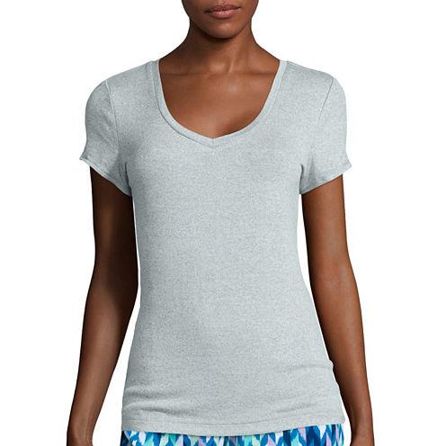 Sleep Chic® Short-Sleeve Pajama Top